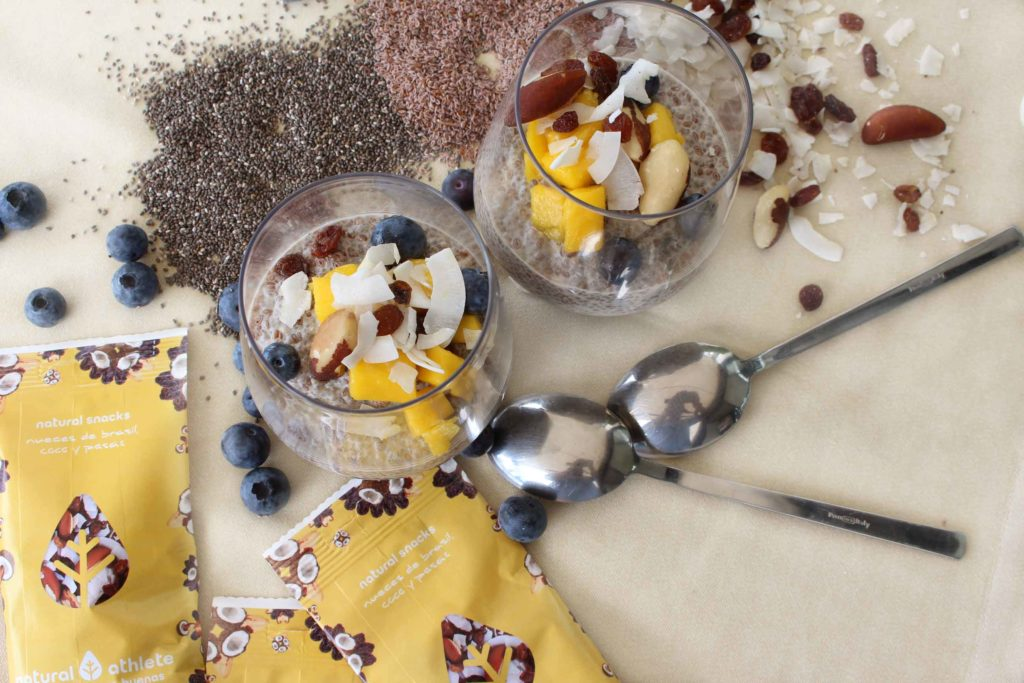 Pudding de semillas de chía y psyllum